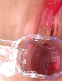 18closeup.com: Barbara Sweet Rubs her Enormous Clit #Exploration #Clit #Speculum